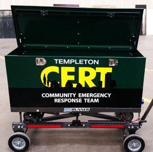 CERT Templeton cargopod